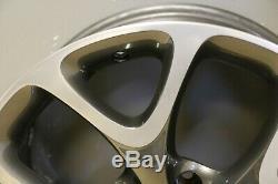 1 Véritable Vauxhall Opel Corsa E 18 Vxr Alliage Roue Gris Poli 7.5J IS45