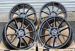 17 Novus 02 Gb Roues Alliage pour Vauxhall Adam Astra Mk5 & Vxr