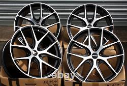 18 NOVUS 01 Bp Roues Alliage Pour Vauxhall Adam Astra MK5 & Vxr