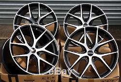18 Novus 01 Bp Roues Alliage pour Opel Calibra Corsa D & Vxr