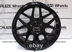 18 Roues Alliage CRUIZE CR1 GB Pour Opel Calibra Corsa D & Vxr