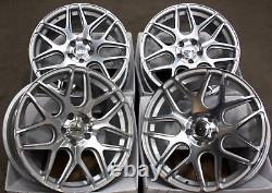 18 Roues Alliage CRUIZE CR1 SFP Pour Opel Calibra Corsa D & Vxr