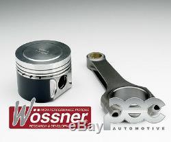 8.5 1 Wossner Forgé Pistons + Pec Acier Barres Opel Corsa Vxr 1.6T 16V Z16LER