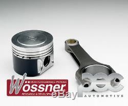 8.5 1 Wossner Piston Forgé + Pec Acier Barres Opel Corsa Vxr 1.6t 16V A16LER