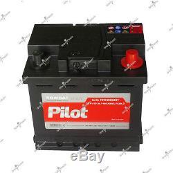 Batterie 12v 50ah 400A VAUXHALL-CORSA 1.6 VXR-192-Essence-02/2007