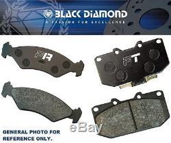 Comprimes De Frein Black Diamond Vauxhall Corsa Mk3 (06 -)(opel Corsa D) Vxr