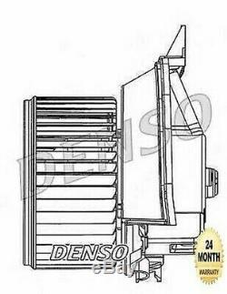 Denso Ventilateur Intérieur pour Opel Corsa Mk III 1.6 Vxr 2007-2014