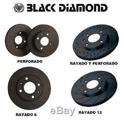Discs Black Diamond Rayures 12 Vauxhall Corsa Mk3 (06 -)(opel Corsa D) Vxr 1