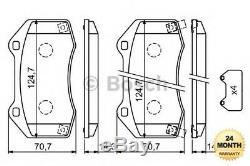Essieu avant Plaquettes de Frein Set pour Vauxhall Corsai 1.6 Vxr 2011-2014
