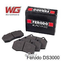 Ferodo DS3000 Plaquettes de frein avant pour Vauxhall Opel Corsa VXR 1. 6 T