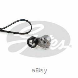 Gates Courroie Ventilateur Poulie Kit pour Opel Corsa Mk III 1.6 Vxr 2011-2014