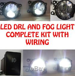 LED DRL et Brouillard Lumières avec Câblage Switch pour Vauxhall Corsa D Vxr 06