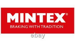 MINTEX Avant + Arrière Disques de Frein + Set Plaquettes pour Opel Corsa 1.6 Vxr