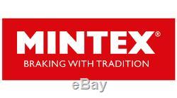 MINTEX Essieu Avant Frein Disques + Set Plaquettes Pour Opel Corsa 1.6 Vxr 2015