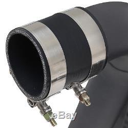 Noir Avant Alliage Mount Intercooler Kit Fmic Pour Vauxhall Opel Corsa E 1.6 Vxr