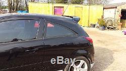 Opel Corsa D 3dr Vxr Coffre Arrière Hayon Spoiler / Aile 2006-2014 Neuf