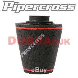 Pipercross Air Filtre Universel Induction Cône Kit Corsa Vxr 1.6 T + Nettoyant