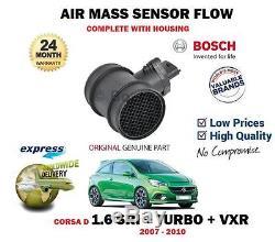 Pour Opel CORSA D 1.6 SRI VXR TURBO 2007-2010 Neuf AIR mesure débit capteur