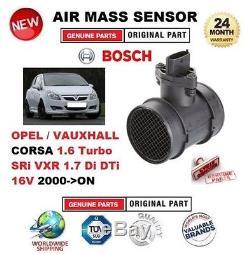 Pour Opel Corsa 1.6 Turbo SRI VXR 1.7 Di DTI 16V DEPUIS 2000 AIR mesure capteur