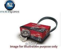 Pour Opel Corsa C 20051.6 Sri Vxr Gates Ventilateur Auxiliaire Kit Tendeur