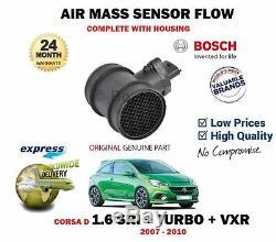 Pour Opel Corsa D 1.6 Sri Vxr Turbo 2007-2010 Neuf Débit Massique Air Capteur