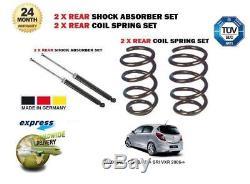 Pour Opel Corsa D + Sri Vxr 2006- 2 X Amortisseur Arrière + 2 X Ressort