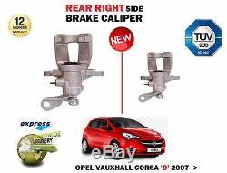 Pour Opel Corsa D Sri Vxr CDTI 2006- Neuf Arrière Droit Étrier Frein Côté
