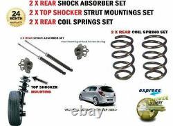 Pour Opel Corsa D + Vxr 2006- 2x Amortisseur Arrière + Ressort Suspension