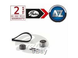 Pour Opel Corsa MK3 1.6 Vxr 192HP -14 Gates Kit Courroie Distribution