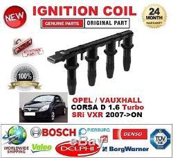Pour Opel Vauxhall Corsa D 1.6 Turbo Sri Vxr 2007- Bobine Allumage 6-broches