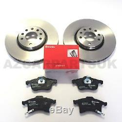 Pour Vauxhall Corsa D 1.6 Vxr Avant Véritable Brembo Frein Disques Et Pads 308mm