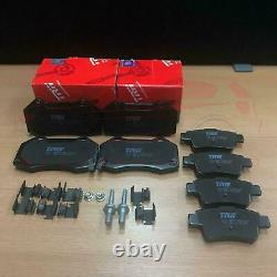 Pour Vauxhall Corsa D 1.6 Vxr Nurburgring 2011- Avant Arrière TRW Frein Pads Set