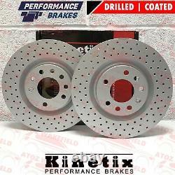 Pour Vauxhall Corsa Vxr Nurburgring Avant Perforé Disques de Frein 305MM Kinetix