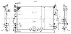 Radiateur pour Opel Corsa Mk III 1.6 Vxr 2011-2014