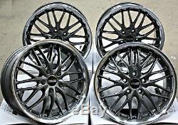Roues Alliage 18 Cruize 190 Gmp pour Opel Calibra Corsa D Vxr