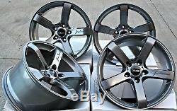 Roues Alliage 18 Cruize Lame GM pour Opel Adam Astra MK5 & Vxr