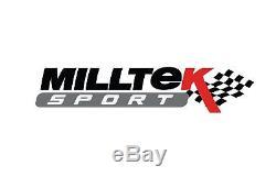 Ssxvx2241 Milltek échappement pour Vauxhall / Opel Corsa VXR 1.6 16V T 0710