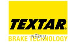 TEXTAR Essieu Avant Frein Disques + Coussinets Pour Opel Corsa IV 1.6 Vxr 2015