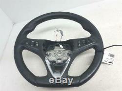 Vauxhall Corsa J Vxr à partir de 2014 Volant Direction Plat Bas + Interrupteur+
